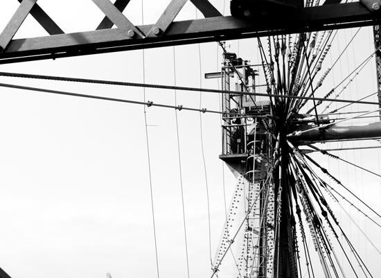 art prints - Ferris Wheel Cables by Kayla Sanner