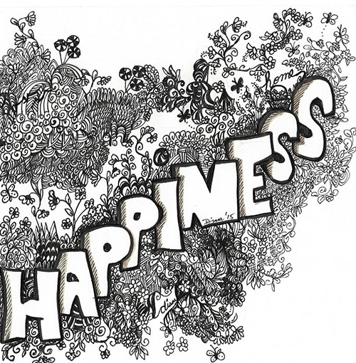 art prints - happiness by Diane Amil