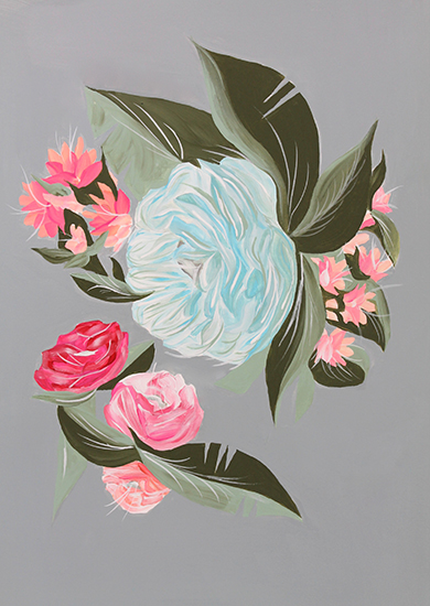 art prints - Vintage Floral by Alicia Bazan