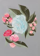 Vintage Floral by Alicia Bazan