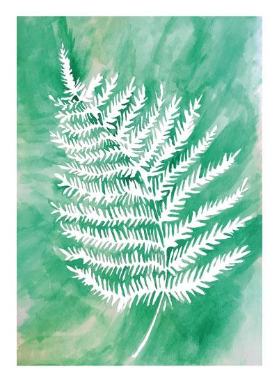 art prints - Spring Green Fern by Kari Joy
