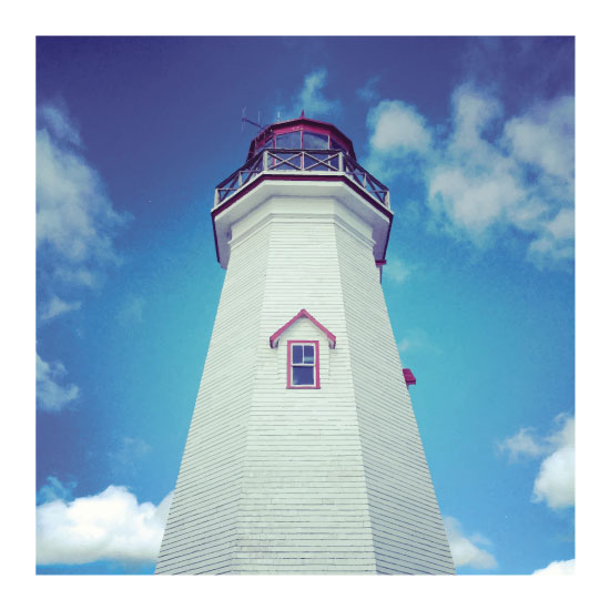 art prints - Kauai Lighthouse by Kari Joy