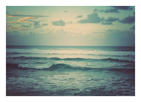 art prints - Ocean at Dusk by Jenni Jacobus