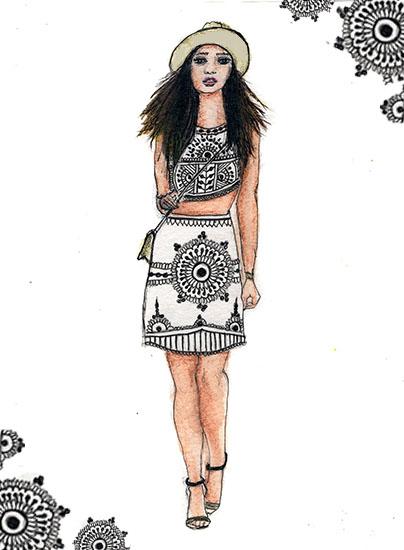 art prints - Henna Style by Alyssa Ruggieri