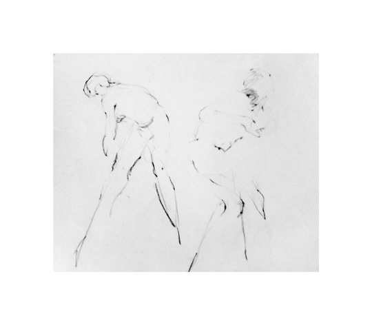art prints - two male gestures by Patricia Robitaille