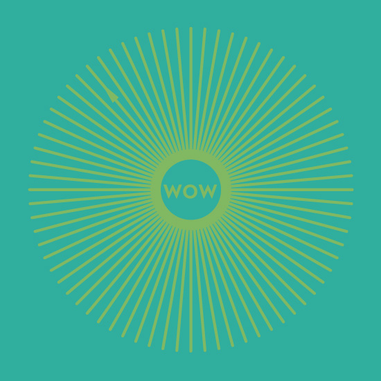 art prints - Mid Century - Wow by Amy Granger