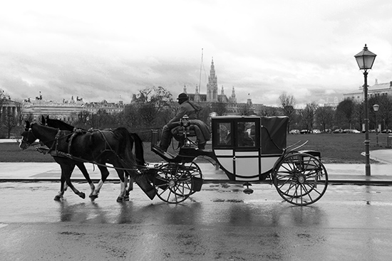 art prints - Vienna Horse carriage by Sher Teng