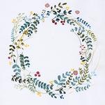 bohemian floral wreath by Adrianna Vanderstelt