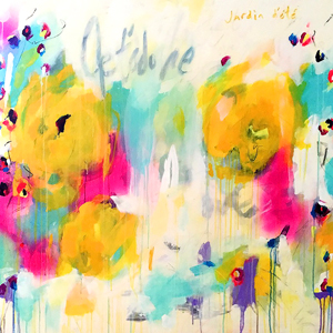 art prints - Je t'adore by KELLY DEGNAN