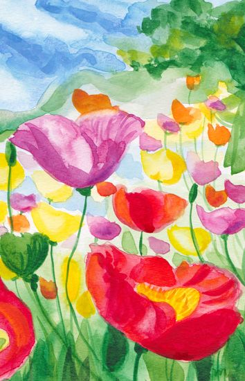 art prints - Spring in Tuscany by Michelle Mospens