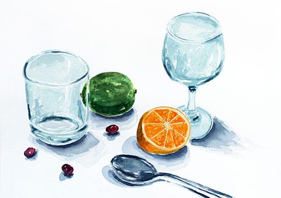 art prints - Kitchen Colors Vol. 2 by Erica Richard