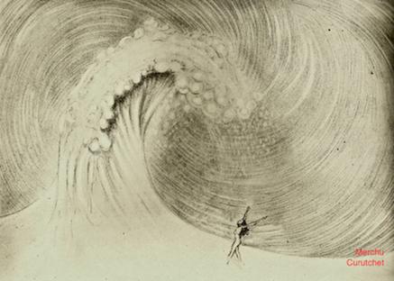 art prints - The Wave & I by Merchu Curutchet