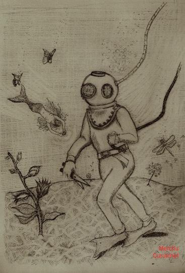 art prints - AquaticMe_DreamSequence by Merchu Curutchet