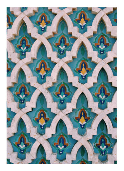 art prints - King Hassan Tiles by Alannah Kittle