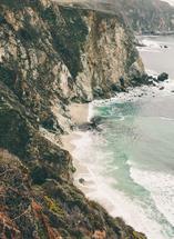 tall ocean waves by morgan blake