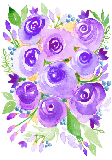 art prints - Spring In Her Step by Michelle Mospens