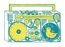 Boombox by Michelle Dowd