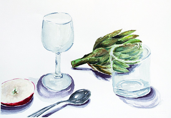 art prints - Kitchen Still Life by Erica Richard