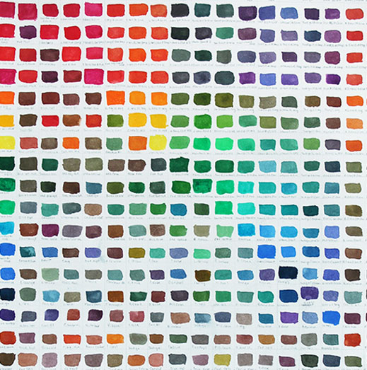 art prints - Color Hues by Erica Richard