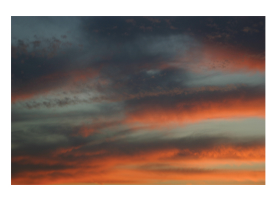 art prints - Sunset Clouds by Luiza Budea