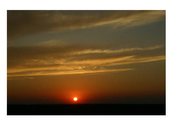 art prints - Sunset at the End of a Perfect Day by Luiza Budea