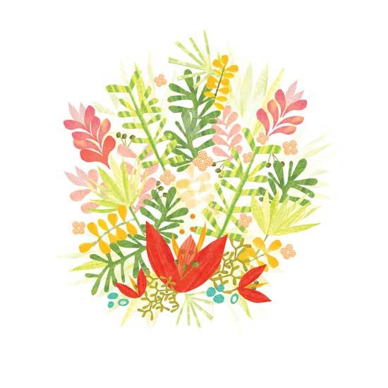 art prints - TropicalBurst by Julie Hamilton