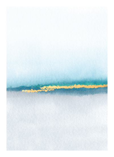 art prints - Golden Sand by Maria Hilas Louie