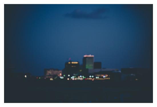 art prints - Twilight Skyline by Erin Beutel