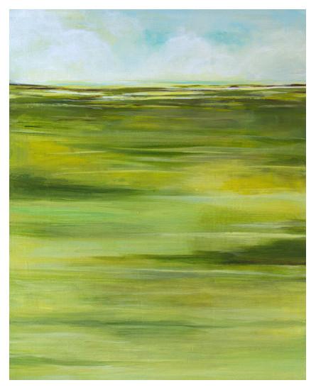 art prints - Grassy Land by Agnes Szlapka