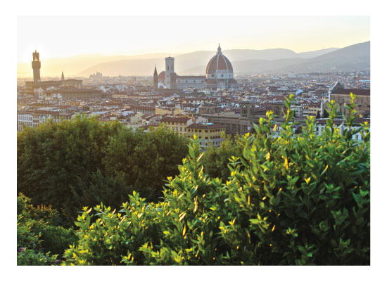art prints - Florence, Italy landscape by Carrie Lee