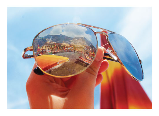 art prints - Sunglasses along Cinque Terre by Carrie Lee