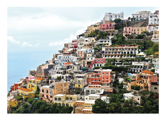 art prints - Cinque Terre by Carrie Lee