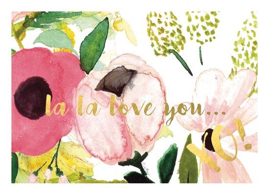 art prints - la la love you by Cynthia Bogart