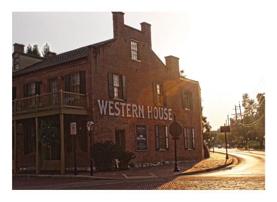 art prints - Western House by Carrie Lee