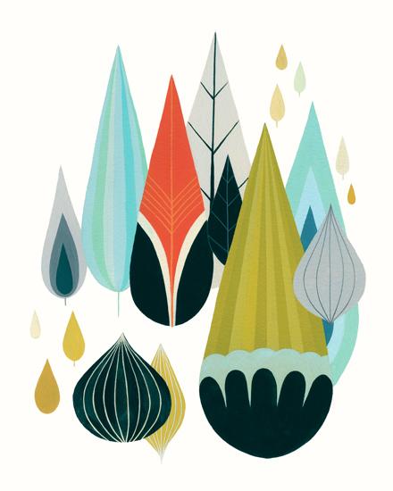 art prints - Mod Drops by Britt DeMaris