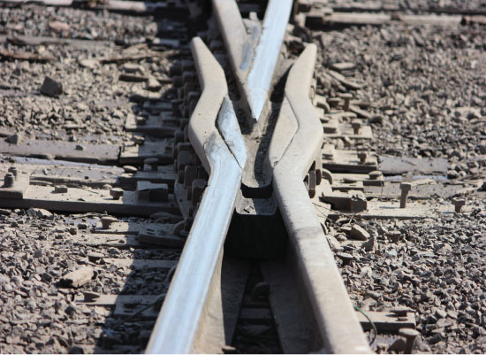 art prints - Railroad X by Brooke Melton