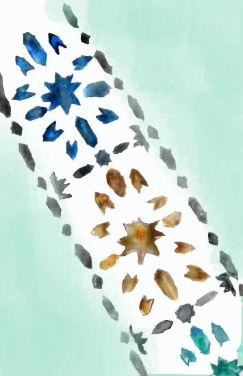 art prints - Moroccan Mint by Alyssa Ruggieri
