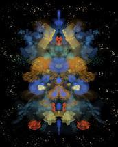Floral Galaxy by Miren