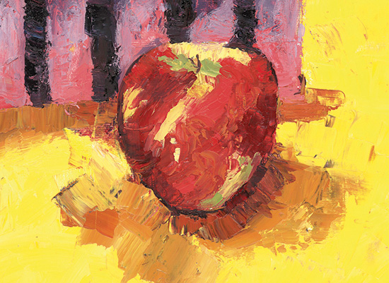 art prints - Honeycrisp Apple by Alice Heinrich