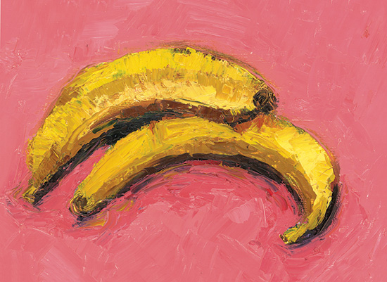 art prints - Bananas by Alice Heinrich