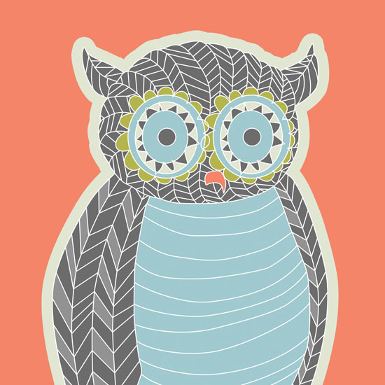 art prints - Owl Be Here by Lori Lay
