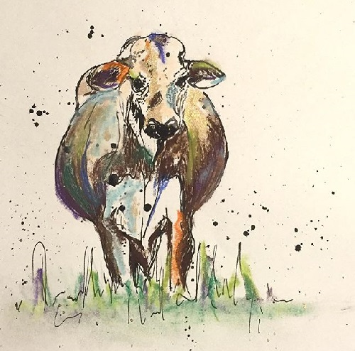 art prints - In the Pasture by Rachel Knight