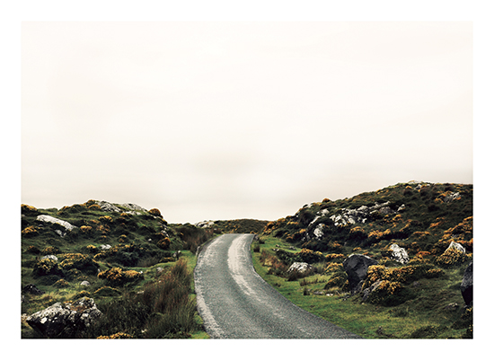 art prints - Connemara Roads by Jenni Jacobus