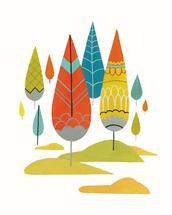 Deco Forest by Britt DeMaris