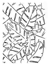 Palm Leaf Study by Kari Joy