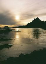 Sunset over Lofoten ila... by David Grigoryan