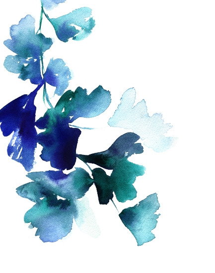 art prints - Graceful Ginkgo by Stephanie Fehrenbach