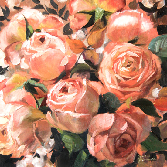 art prints - Structure of Roses by Sarah Nightingale