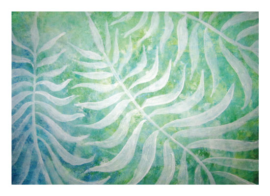 art prints - Frond of You by Tess Williams