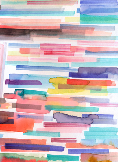 art prints - Watercolor bleeding by Ninola Design